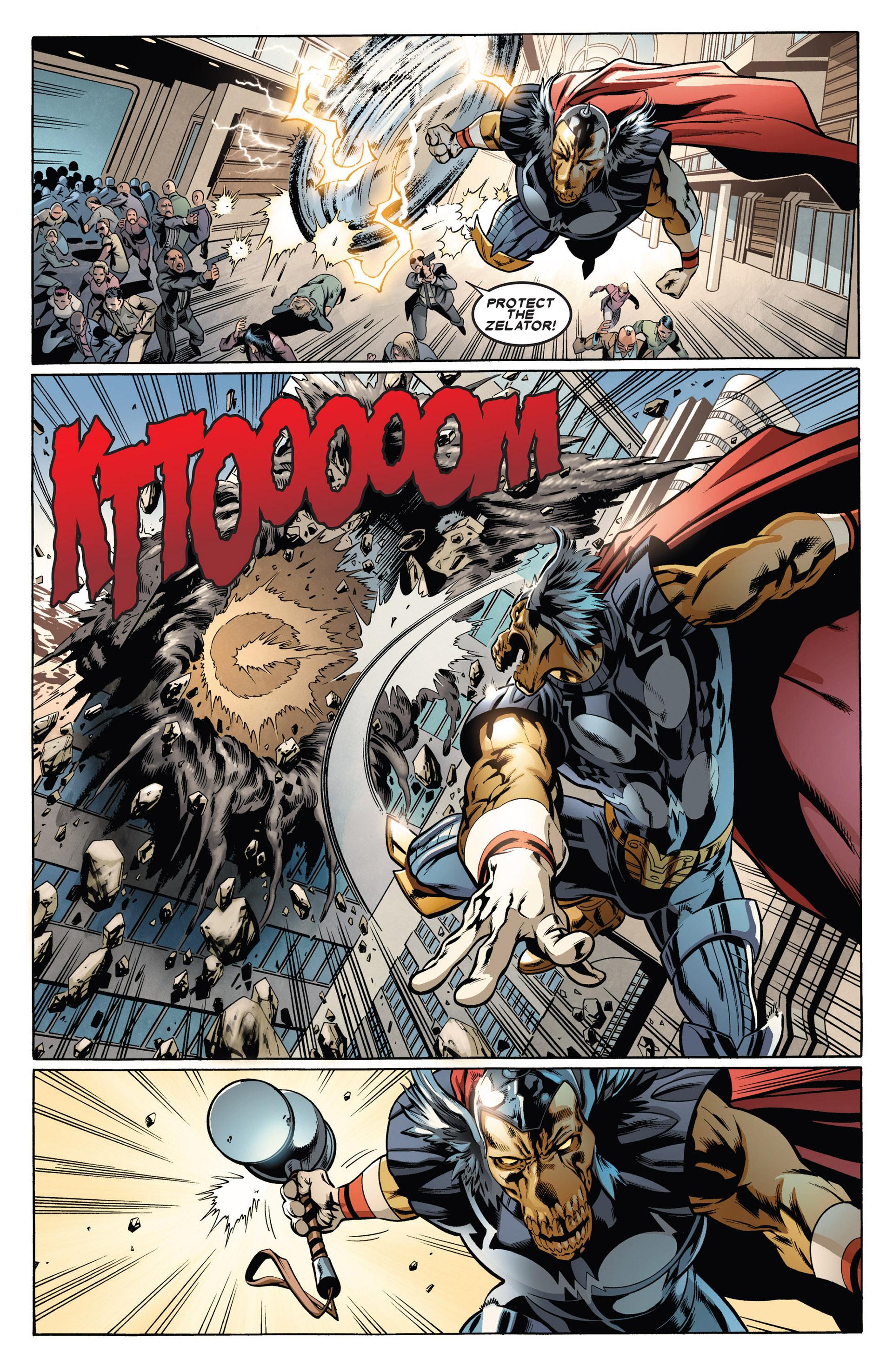 Read online Annihilators: Earthfall comic -  Issue #1 - 17