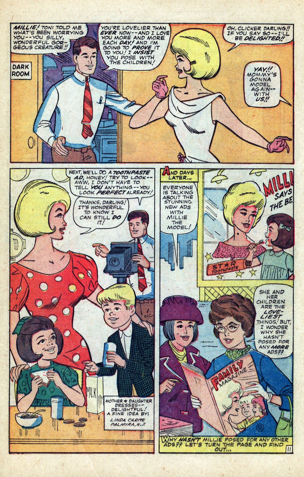 Read online Millie the Model comic -  Issue # Annual 3 - 70