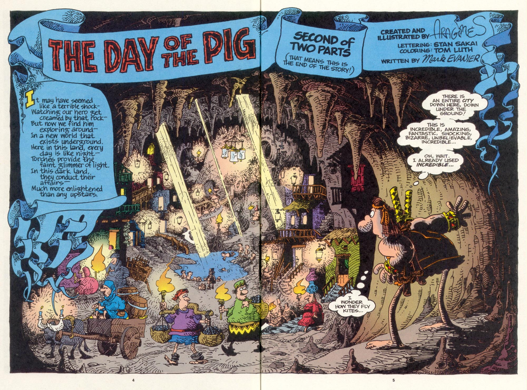 Read online Sergio Aragonés Groo the Wanderer comic -  Issue #119 - 6