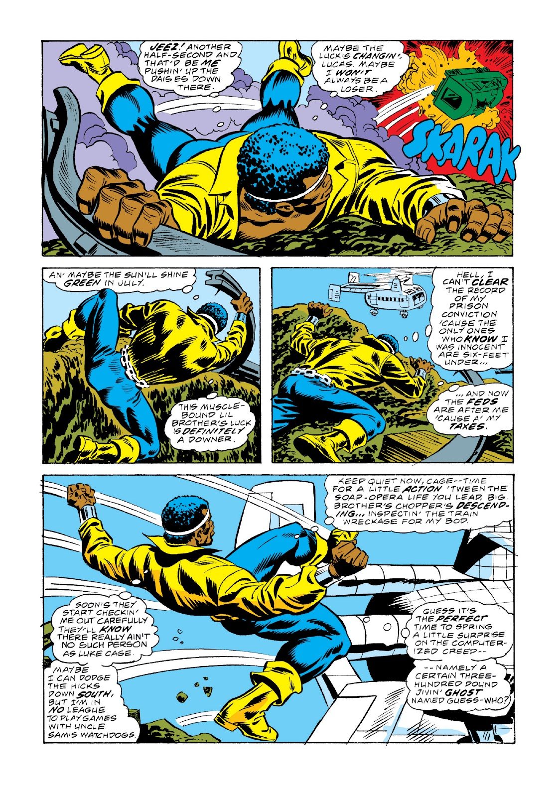 Read online Marvel Masterworks: Luke Cage, Power Man comic -  Issue # TPB 3 (Part 2) - 87