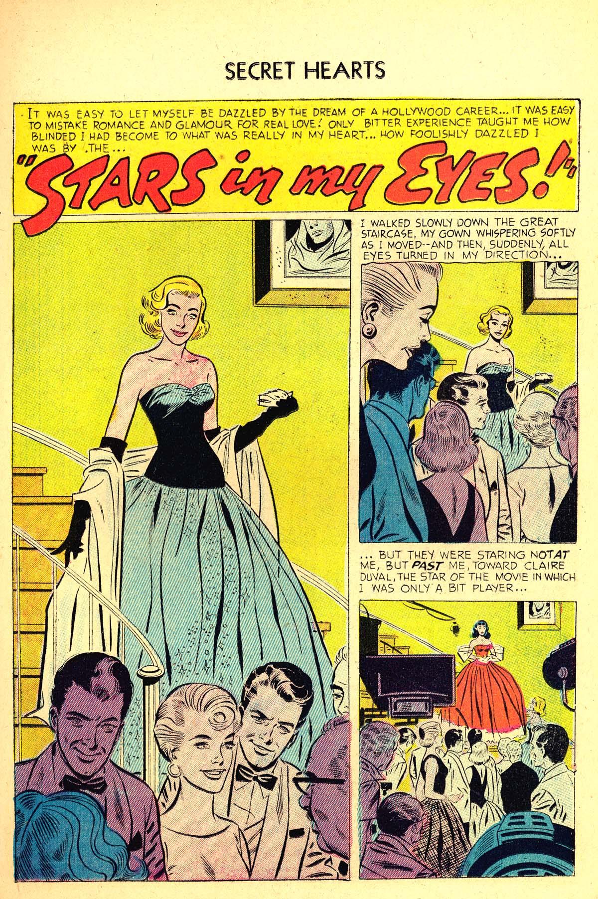 Read online Secret Hearts comic -  Issue #37 - 19