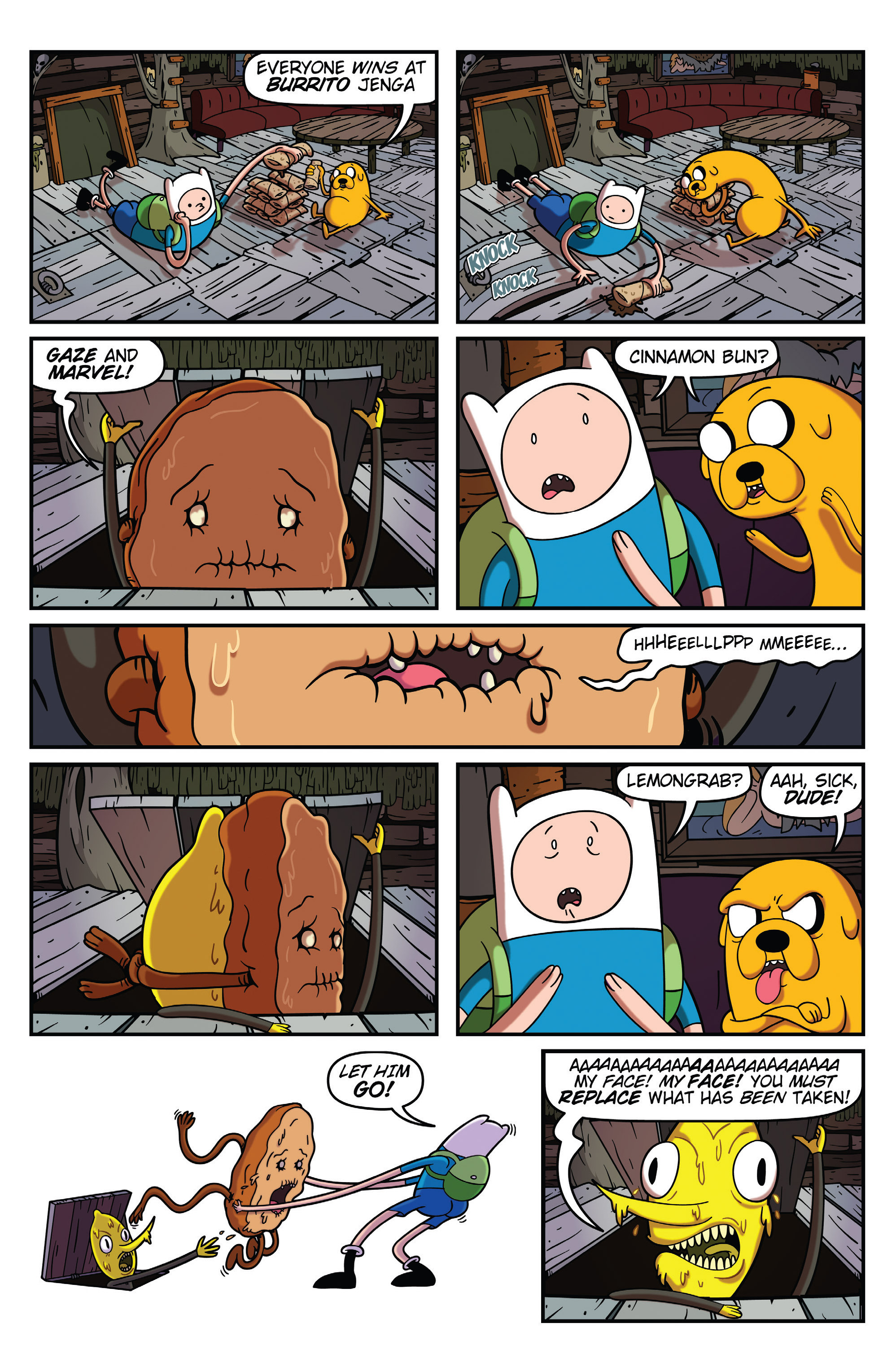 Read online Adventure Time comic -  Issue #31 - 21