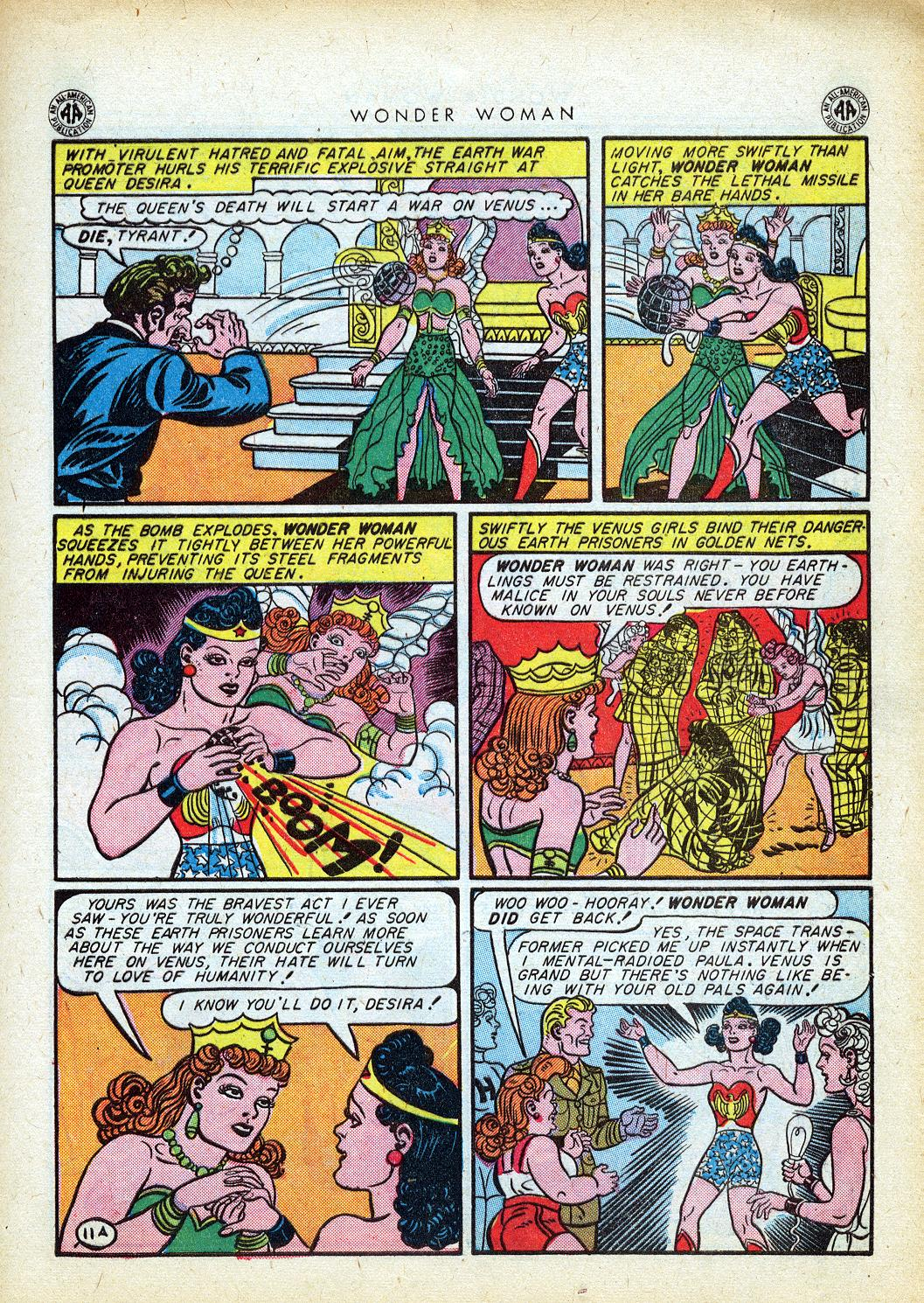 Comic Wonder Woman (1942) issue 12