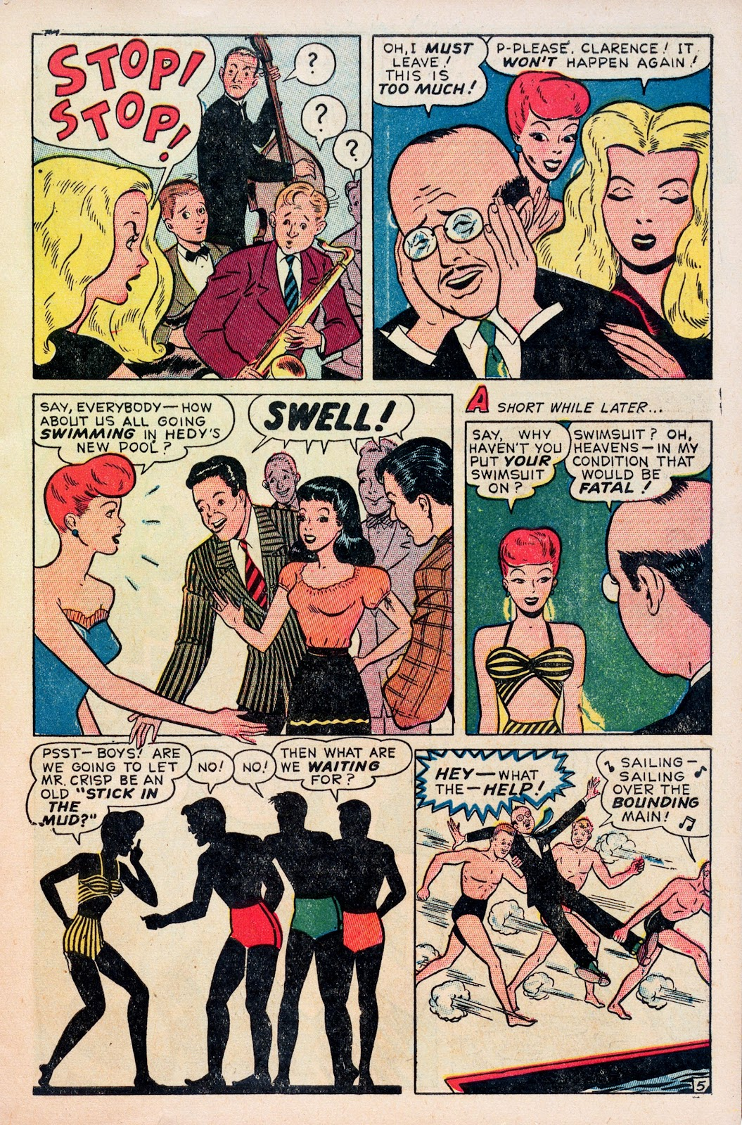 Read online Comedy Comics (1948) comic -  Issue #1 - 7
