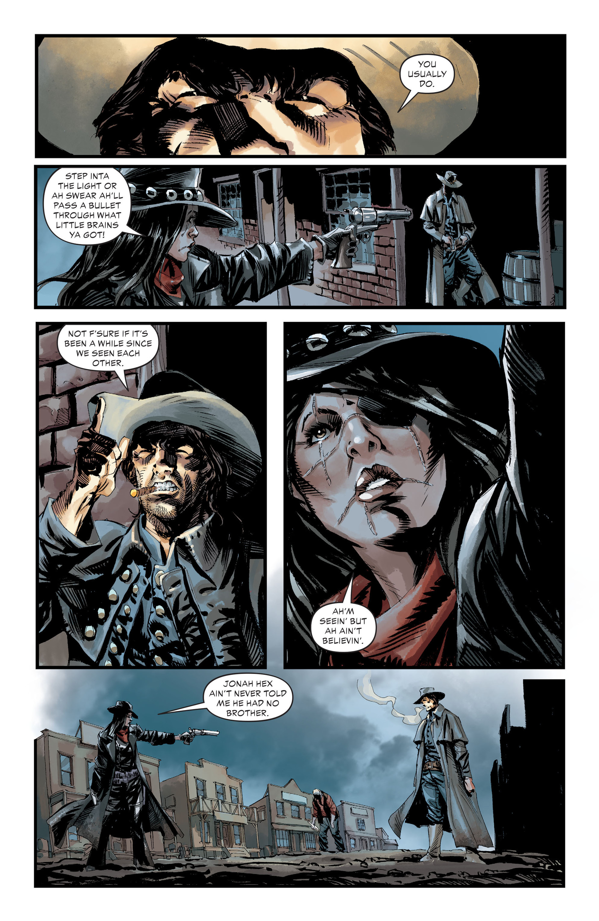 Read online All-Star Western (2011) comic -  Issue #30 - 9