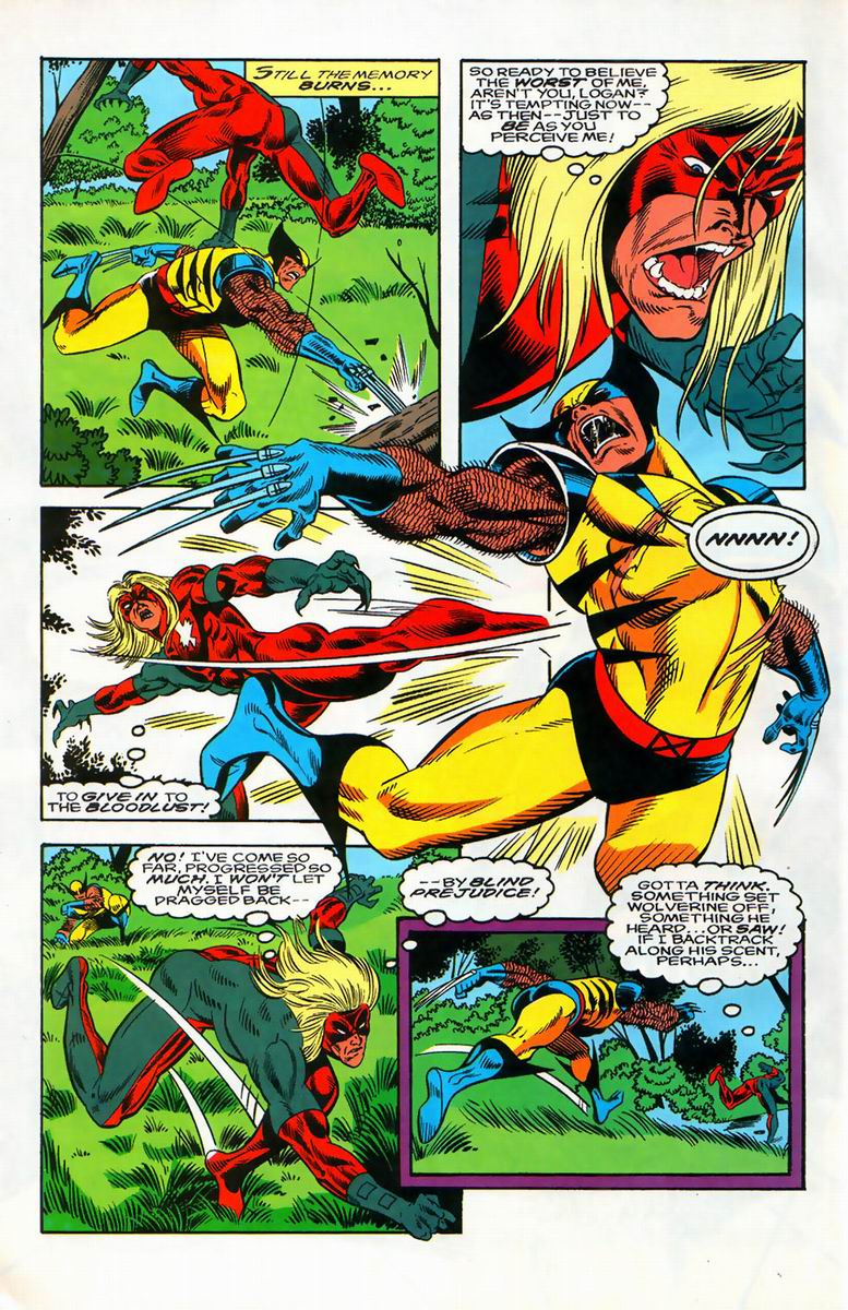 Read online Alpha Flight (1983) comic -  Issue #127 - 22