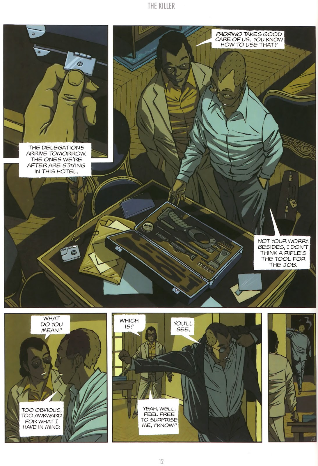 Read online The Killer comic -  Issue #5 - 14