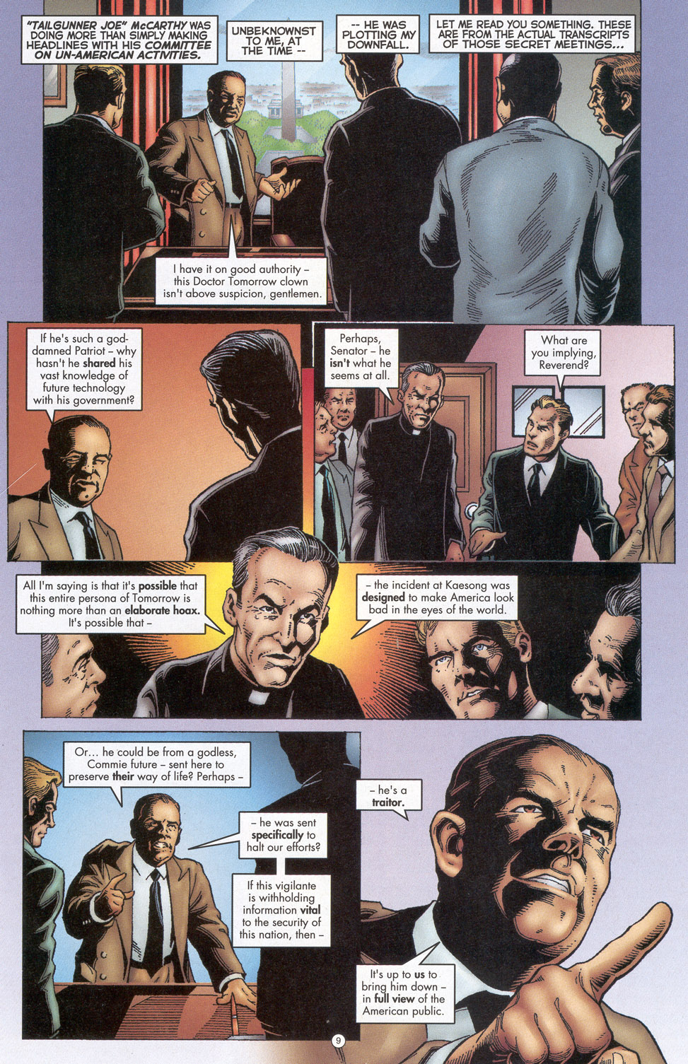 Read online Doctor Tomorrow comic -  Issue #4 - 8
