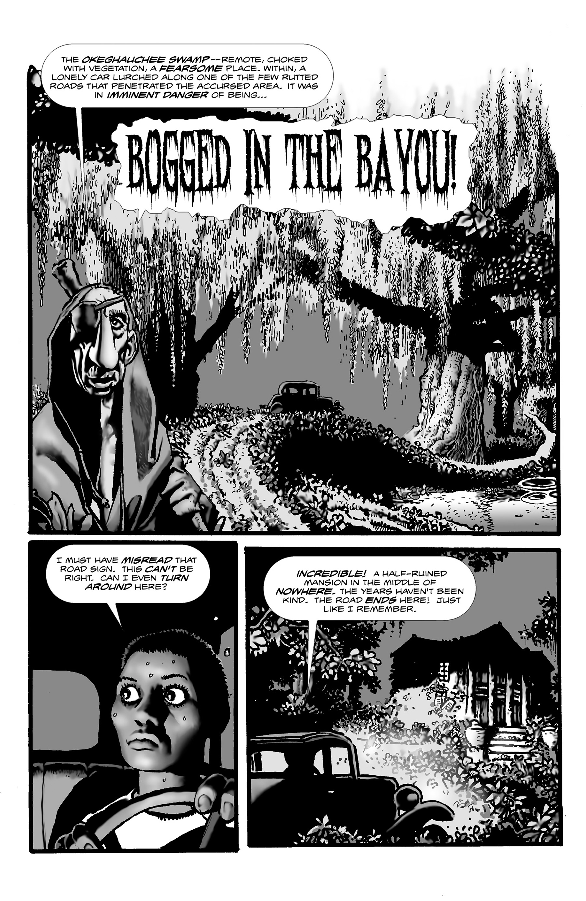 Read online Shadows on the Grave comic -  Issue #3 - 3