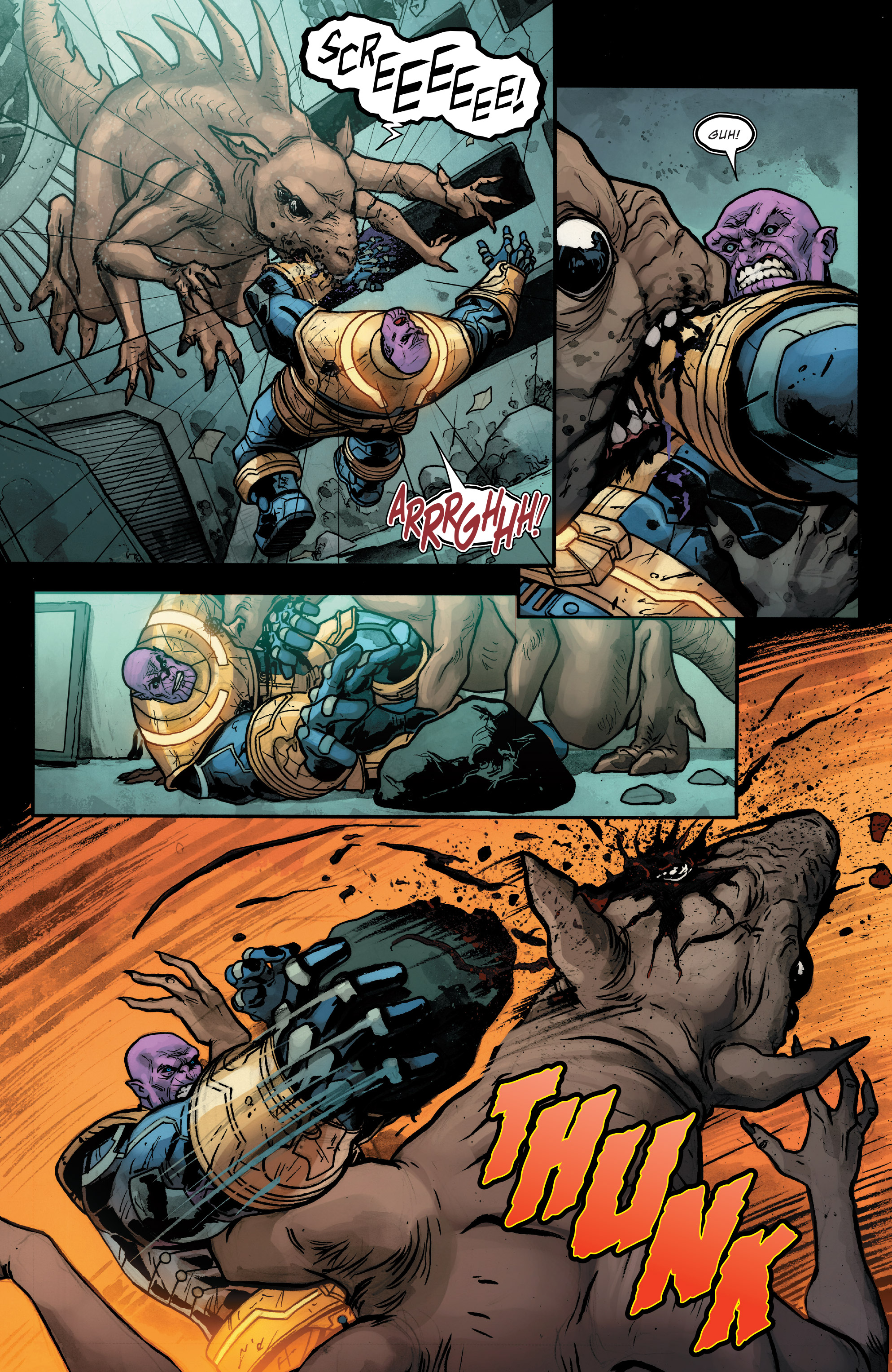 Read online Thanos (2016) comic -  Issue #7 - 7