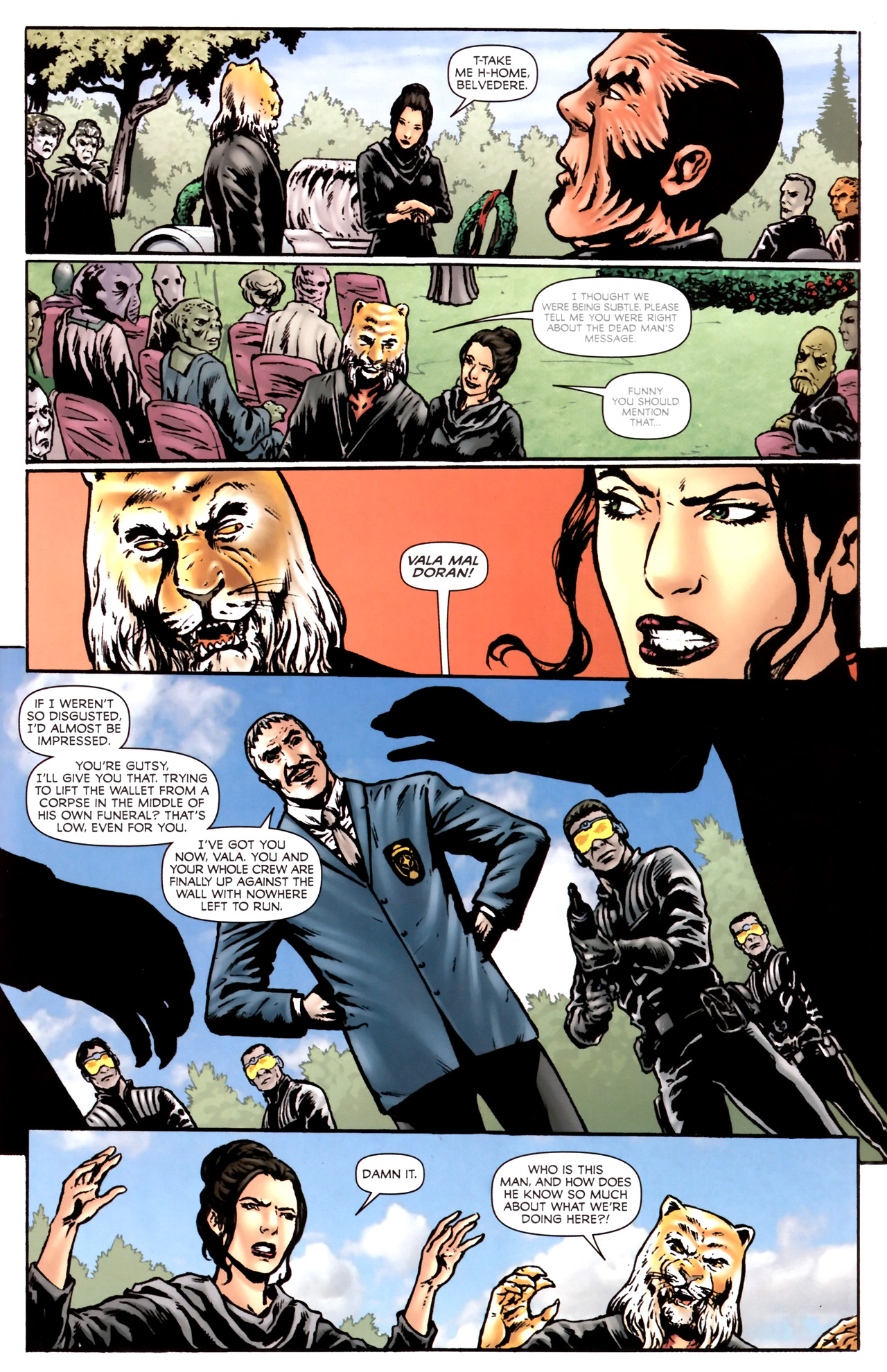 Read online Stargate Vala Mal Doran comic -  Issue #2 - 21