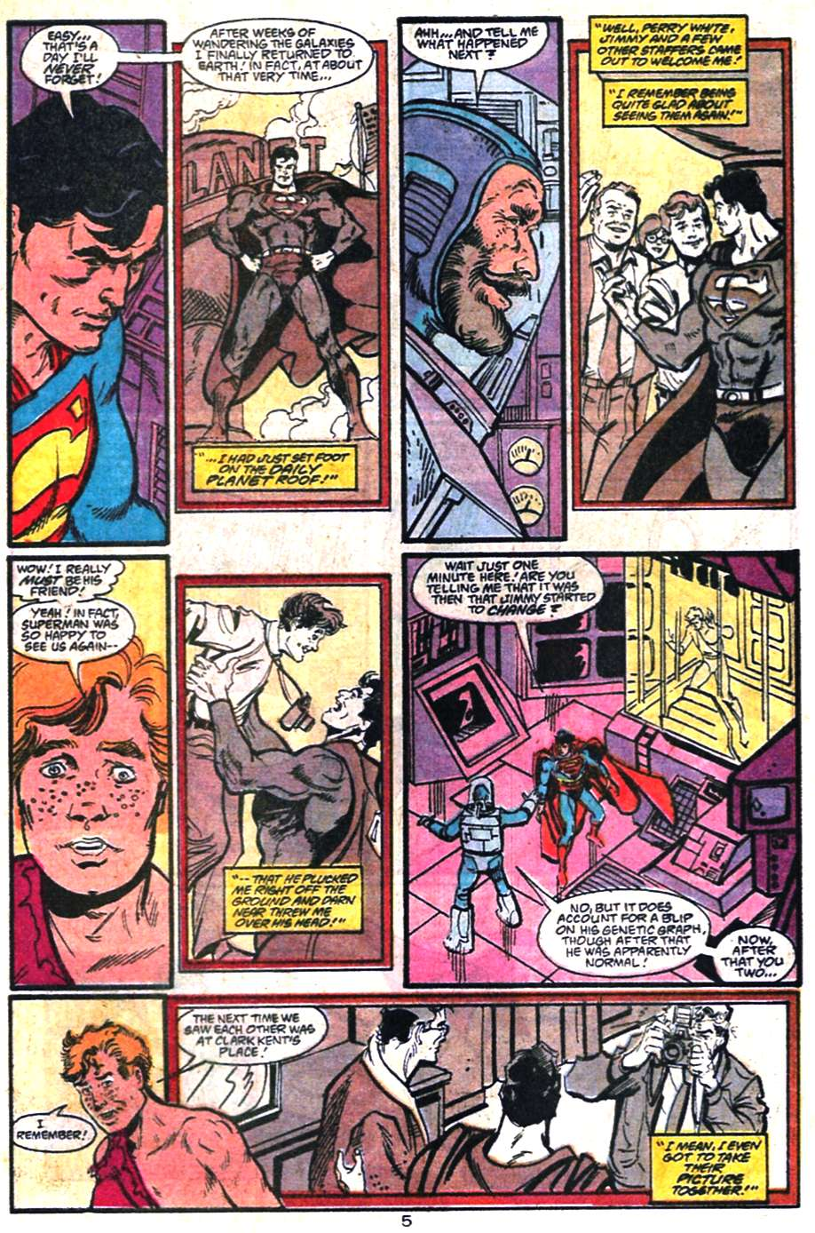 Read online Adventures of Superman (1987) comic -  Issue #459 - 6