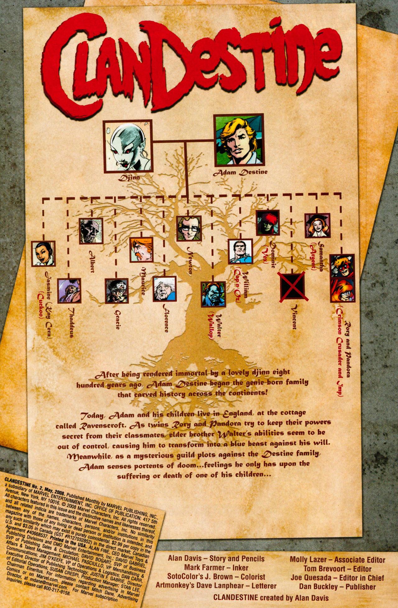 ClanDestine (2008) 2 Page 2
