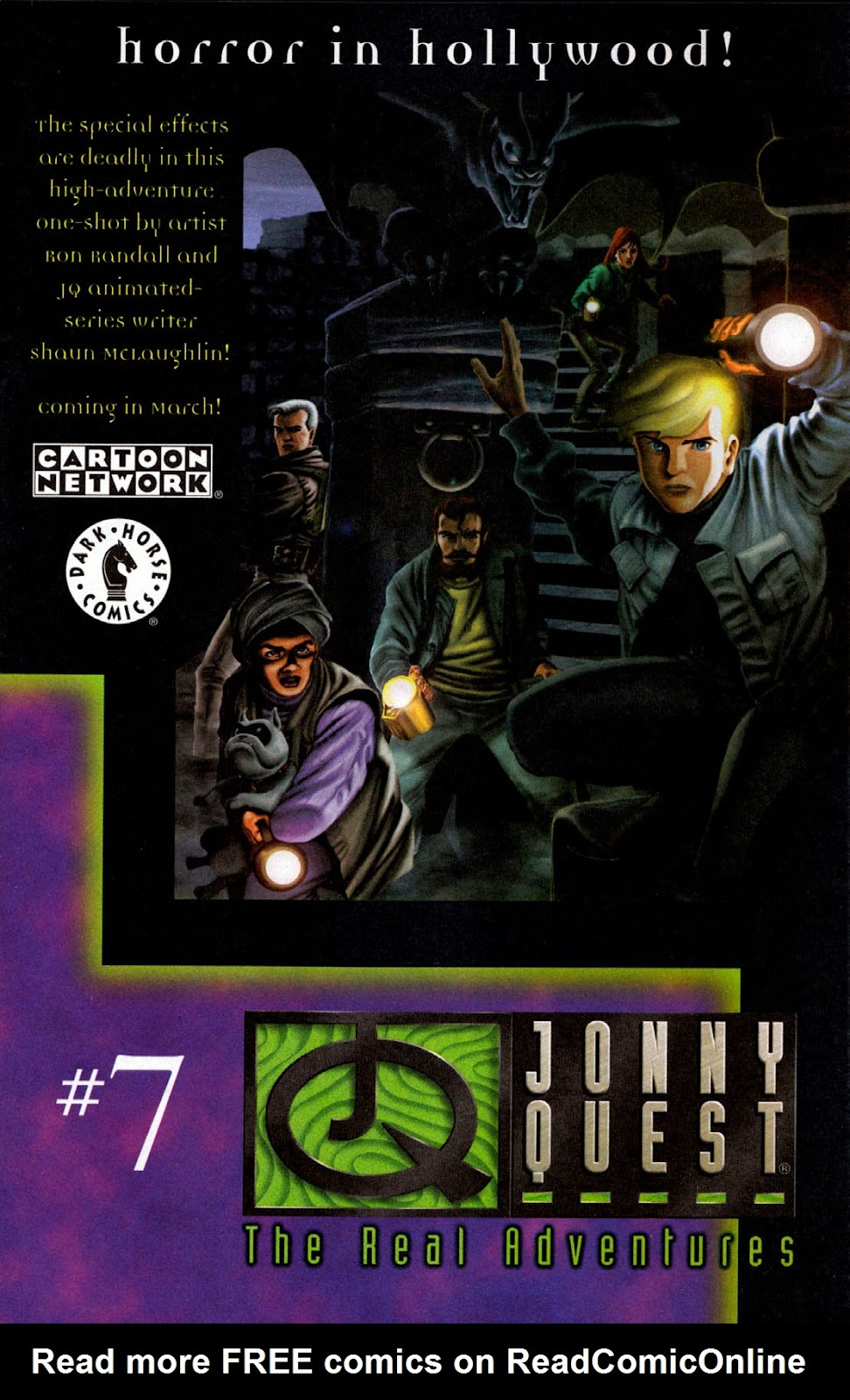 Read online The Real Adventures of Jonny Quest comic -  Issue #6 - 25