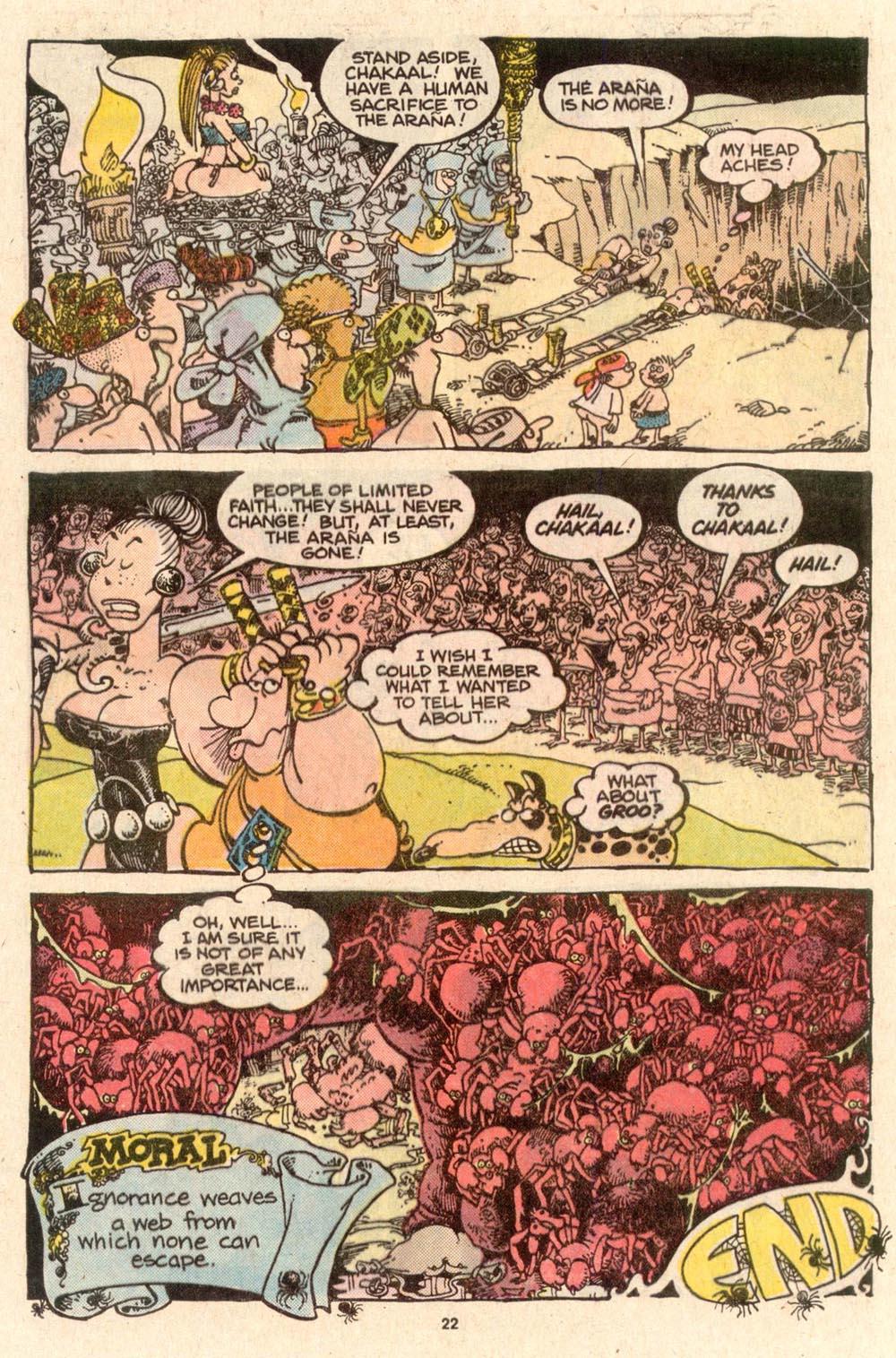 Read online Sergio Aragonés Groo the Wanderer comic -  Issue #52 - 23