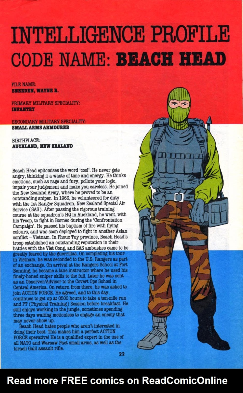 G.I. Joe European Missions issue 10 - Page 22