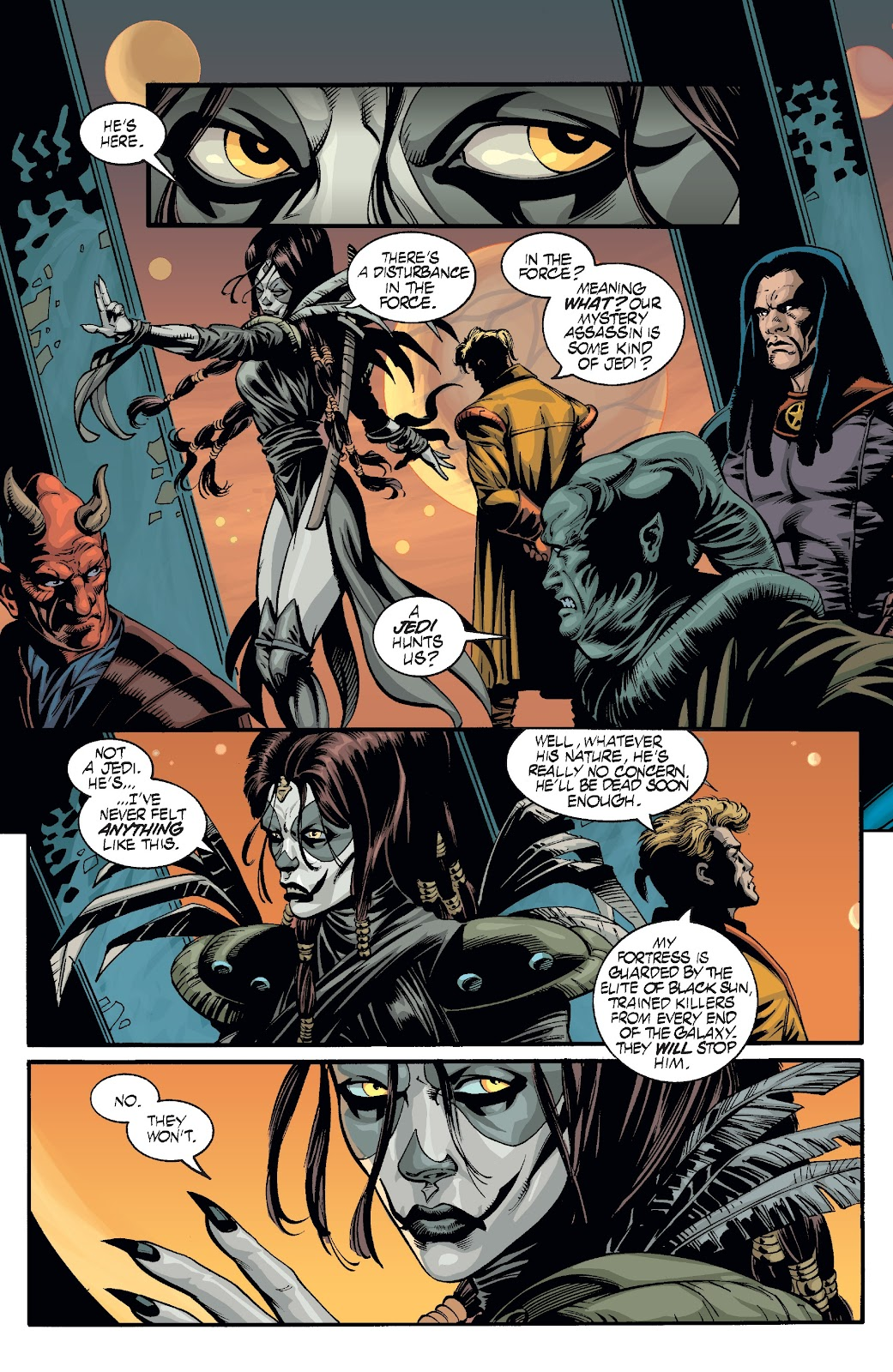 Read online Star Wars Legends: Rise of the Sith - Epic Collection comic -  Issue # TPB 2 (Part 2) - 100