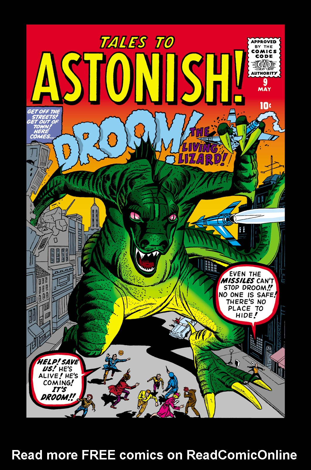 Tales to Astonish (1959) issue 9 - Page 1