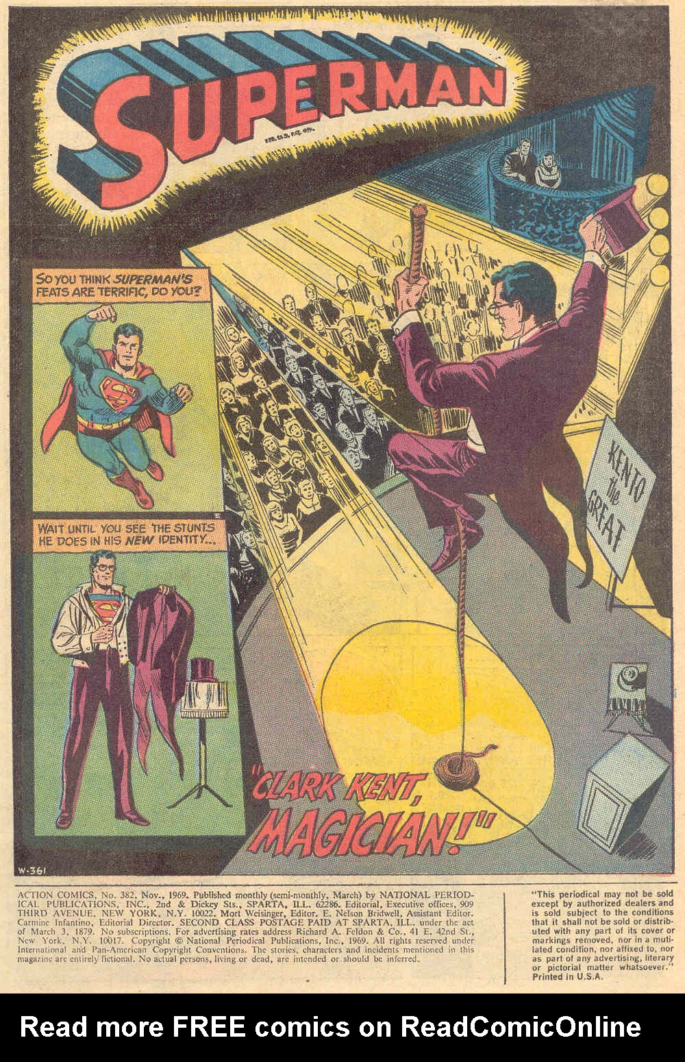 Read online Action Comics (1938) comic -  Issue #382 - 3