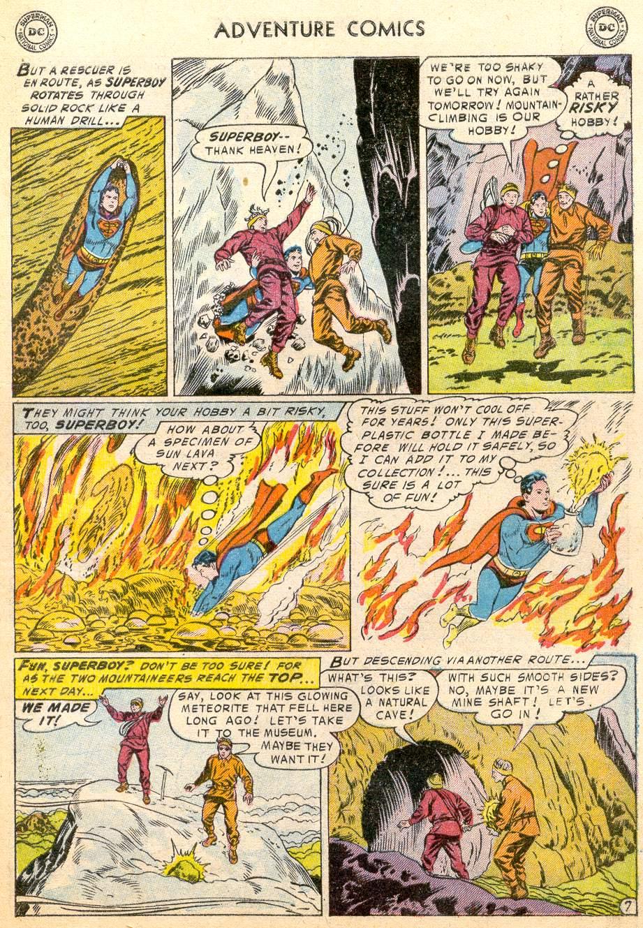 Read online Adventure Comics (1938) comic -  Issue #215 - 9