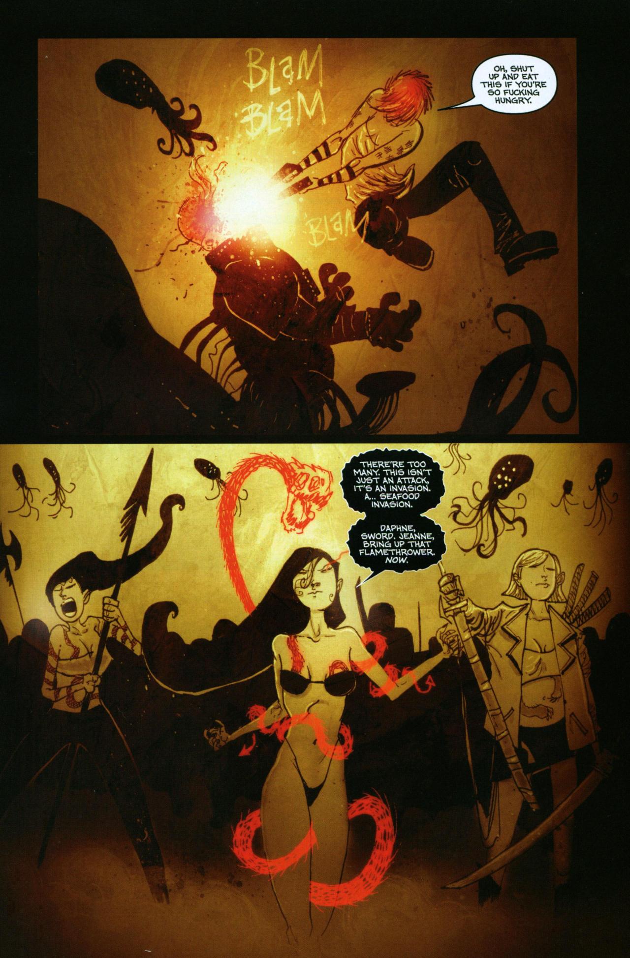 Read online Wormwood: Gentleman Corpse comic -  Issue #10 - 6
