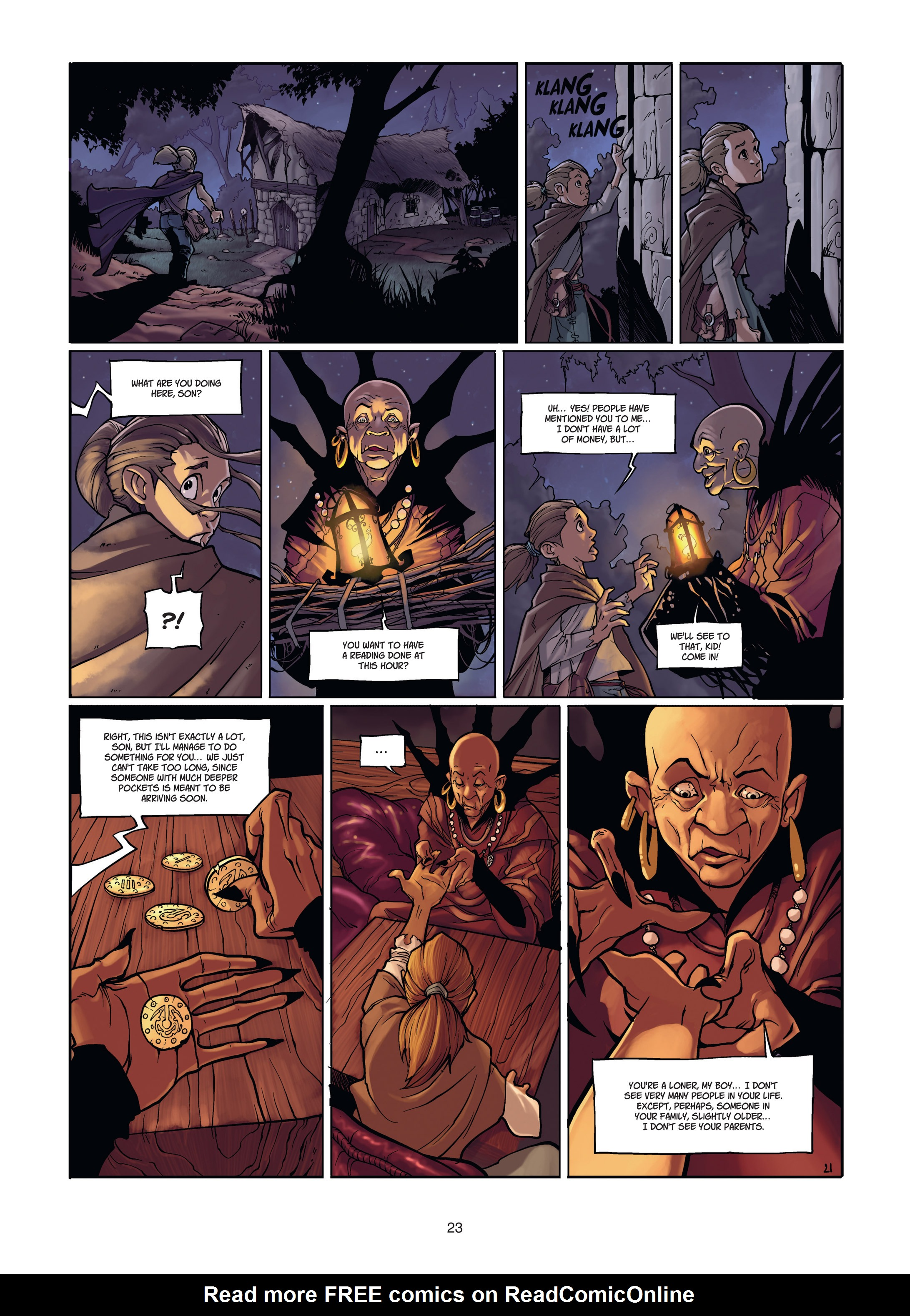 Read online Angor comic -  Issue #1 - 23
