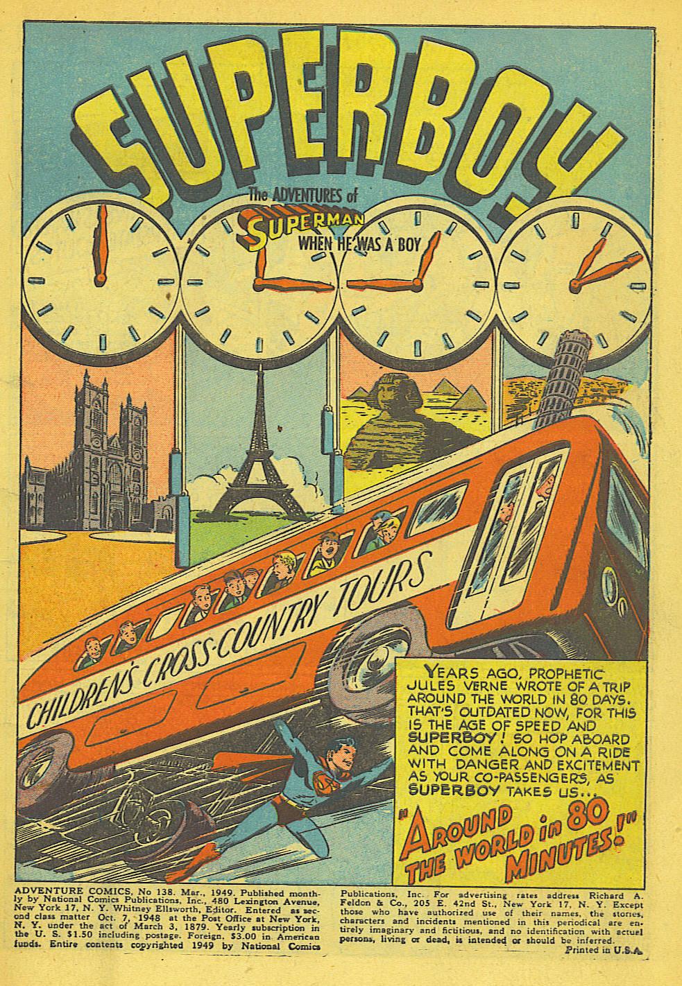 Read online Adventure Comics (1938) comic -  Issue #138 - 3
