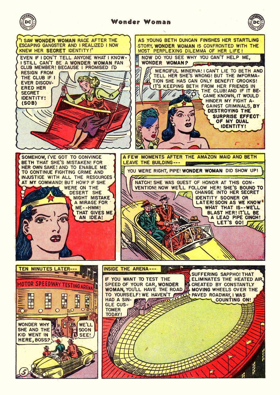Read online Wonder Woman (1942) comic -  Issue #54 - 35