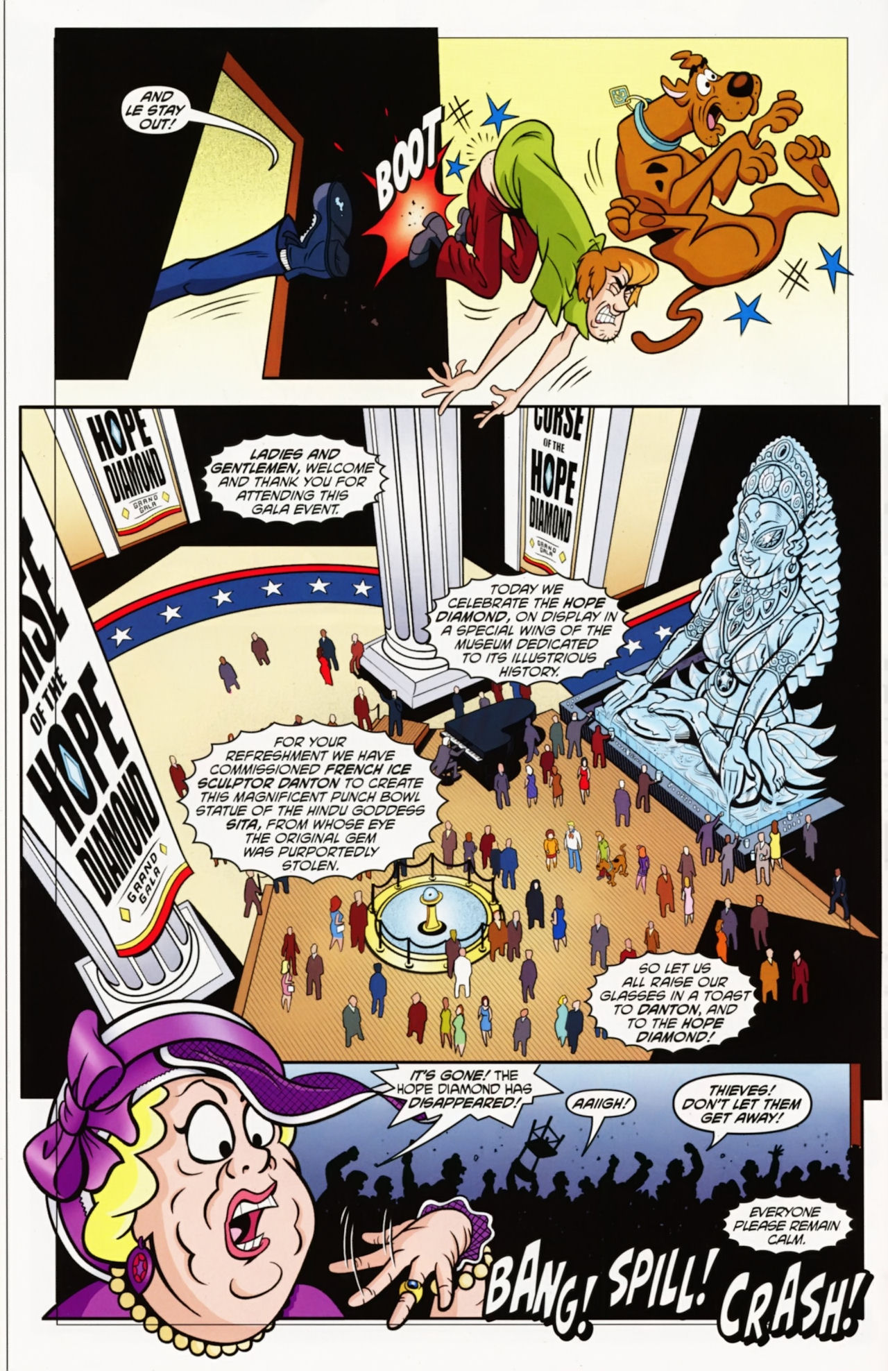 Read online Scooby-Doo: Where Are You? comic -  Issue #12 - 6