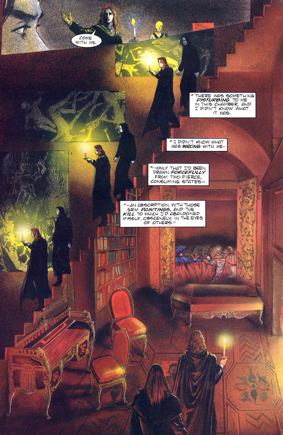 Read online Anne Rice's Interview with the Vampire comic -  Issue #8 - 23