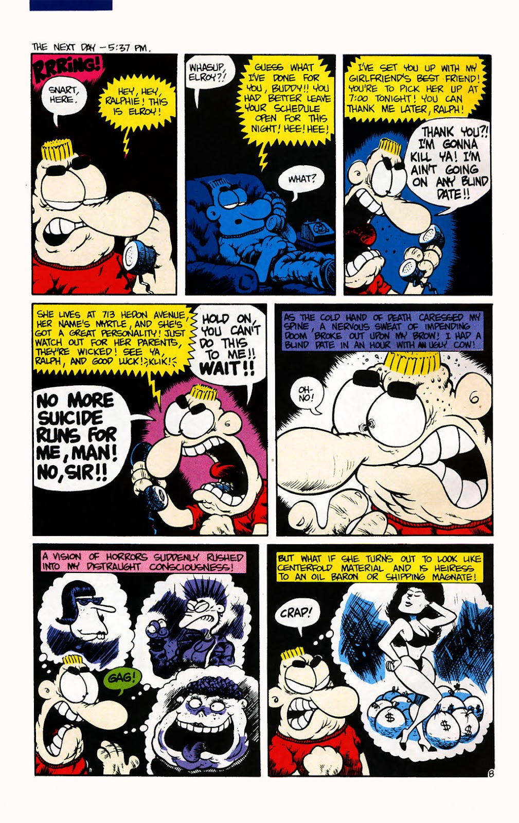 Ralph Snart Adventures (1988) issue 7 - Page 9