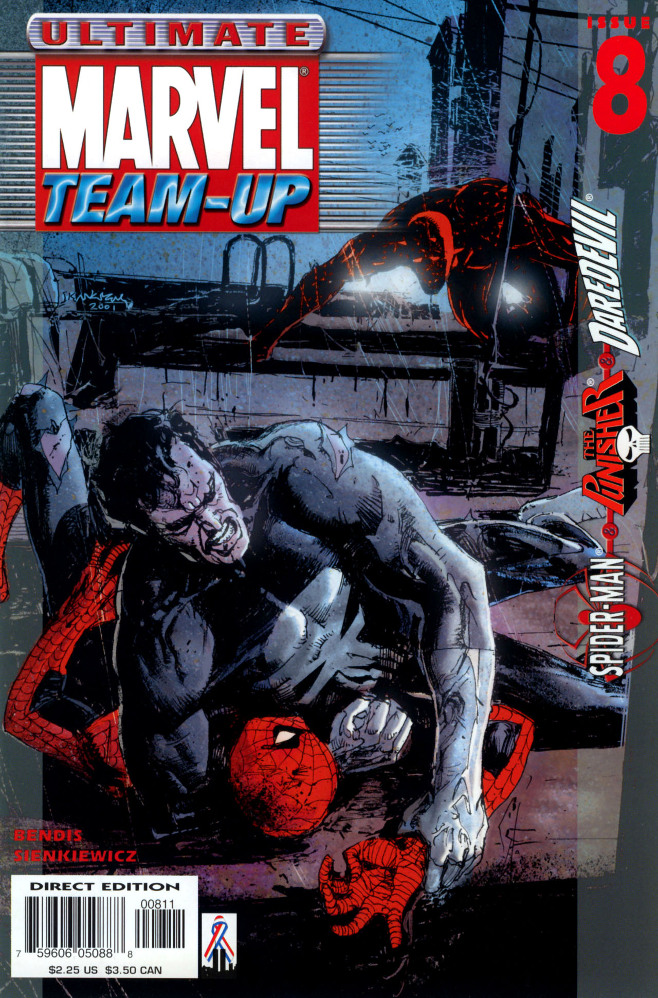 Read online Ultimate Marvel Team-Up comic -  Issue #8 - 1