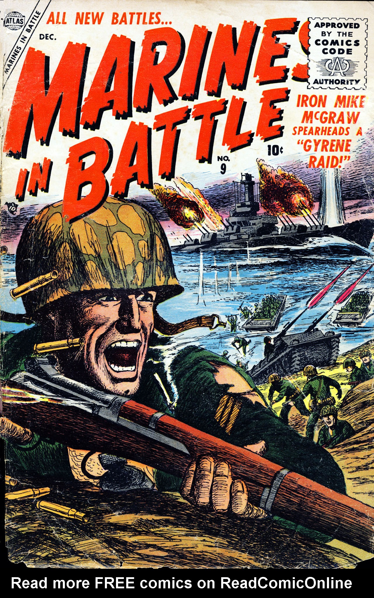 Marines in Battle 9 Page 1