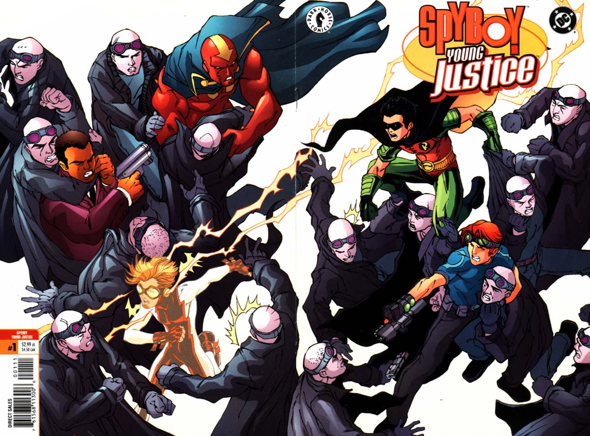 Read online SpyBoy/Young Justice comic -  Issue #1 - 1