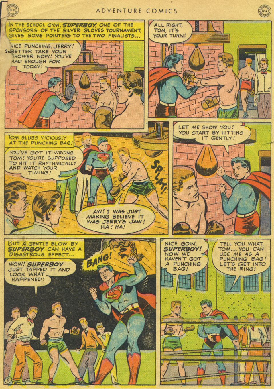 Read online Adventure Comics (1938) comic -  Issue #134 - 4