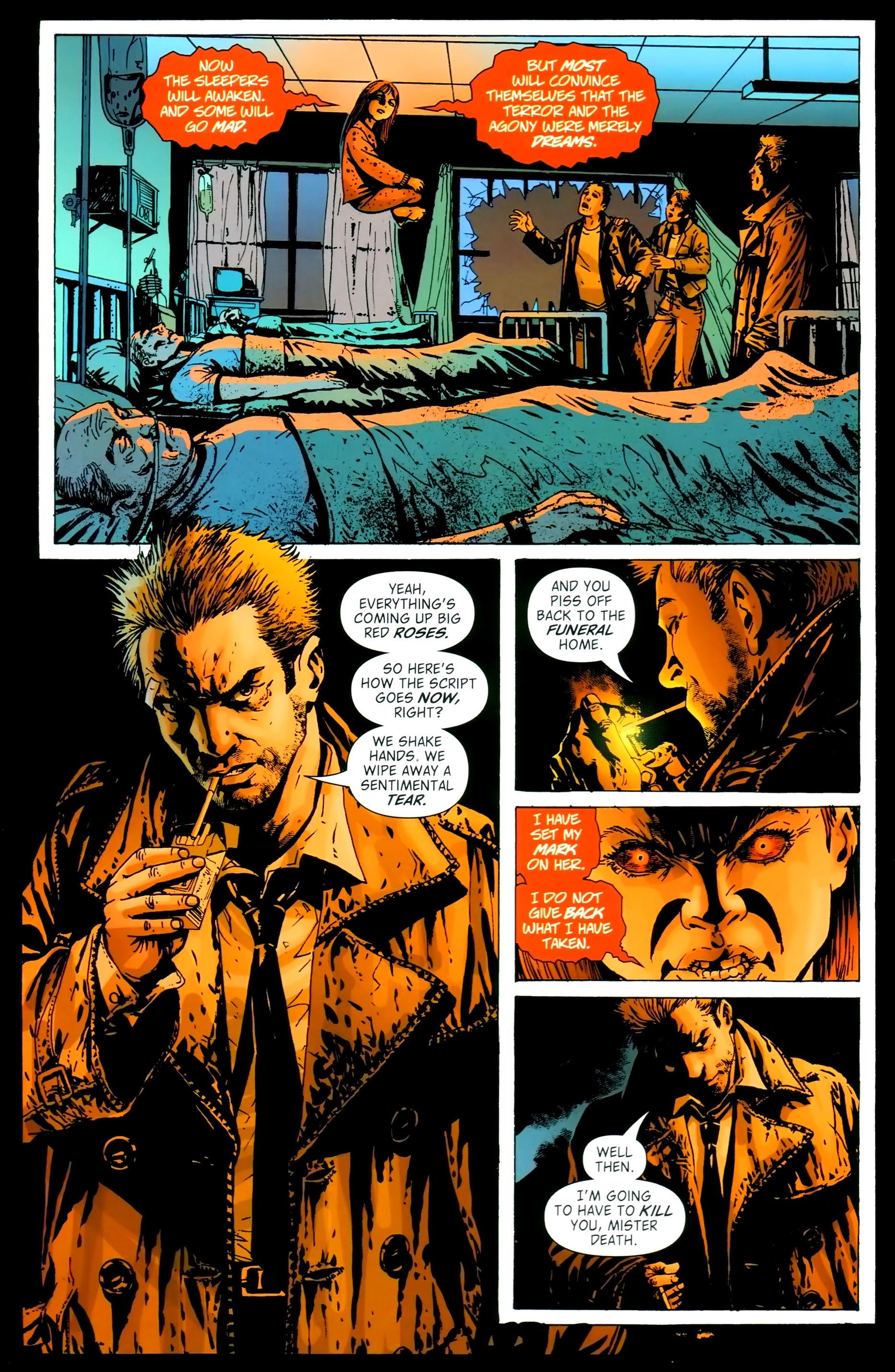 Read online John Constantine Hellblazer: All His Engines comic -  Issue # Full - 110