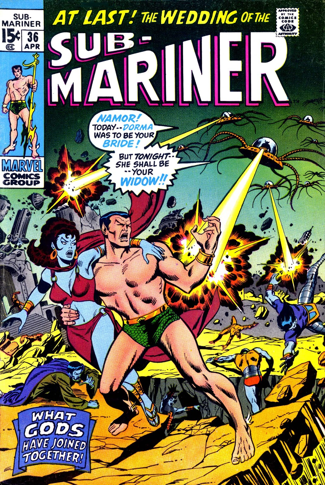 The Sub-Mariner 36 Page 1