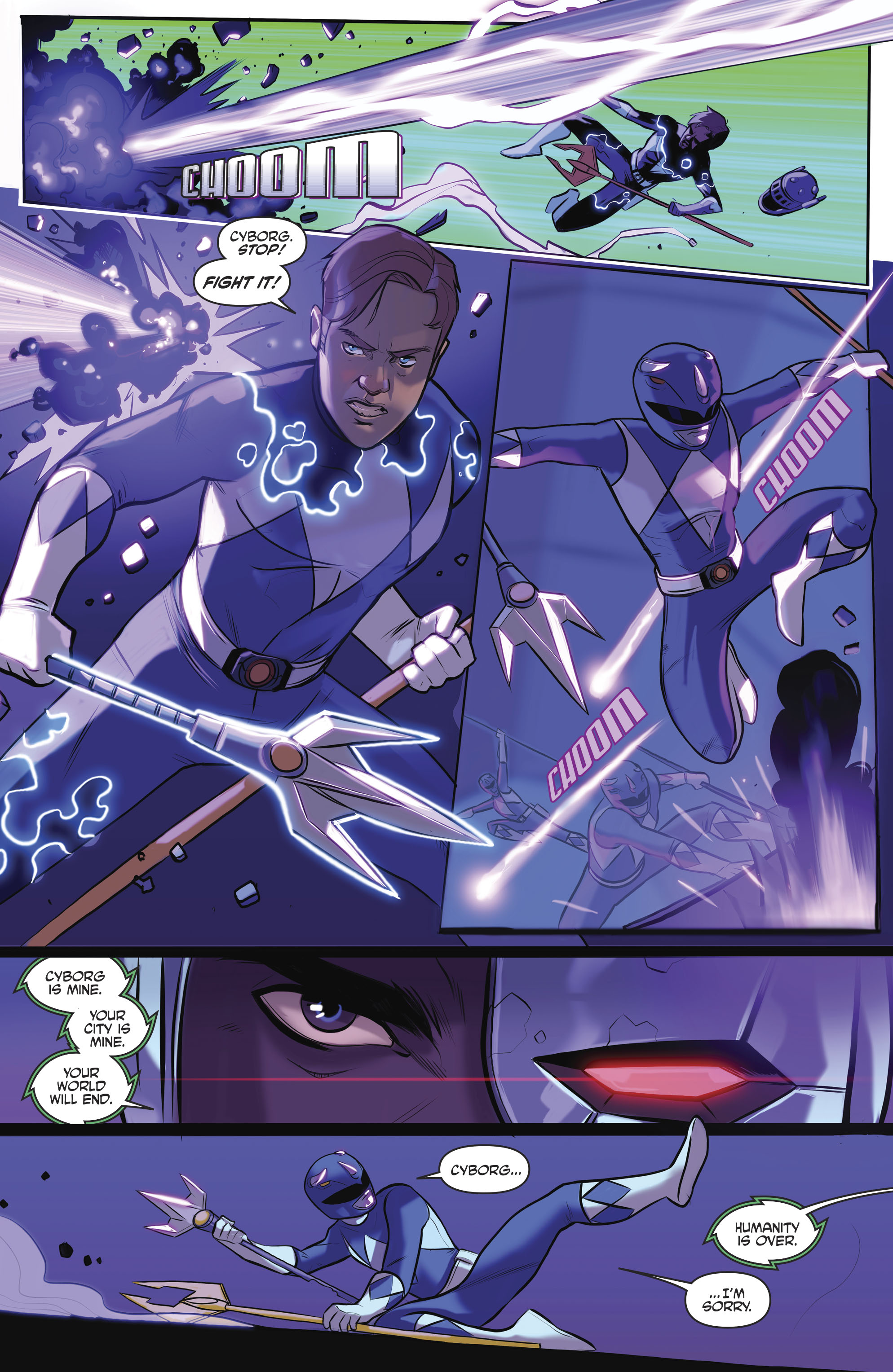 Read online Justice League/Mighty Morphin' Power Rangers comic -  Issue #4 - 23