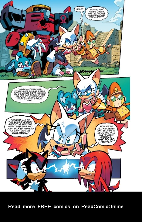 Read online Sonic Comics Spectacular: Speed of Sound comic -  Issue # Full - 238