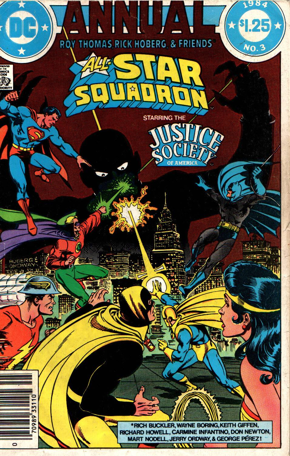 Read online All-Star Squadron comic -  Issue # _Annual 3 - 1