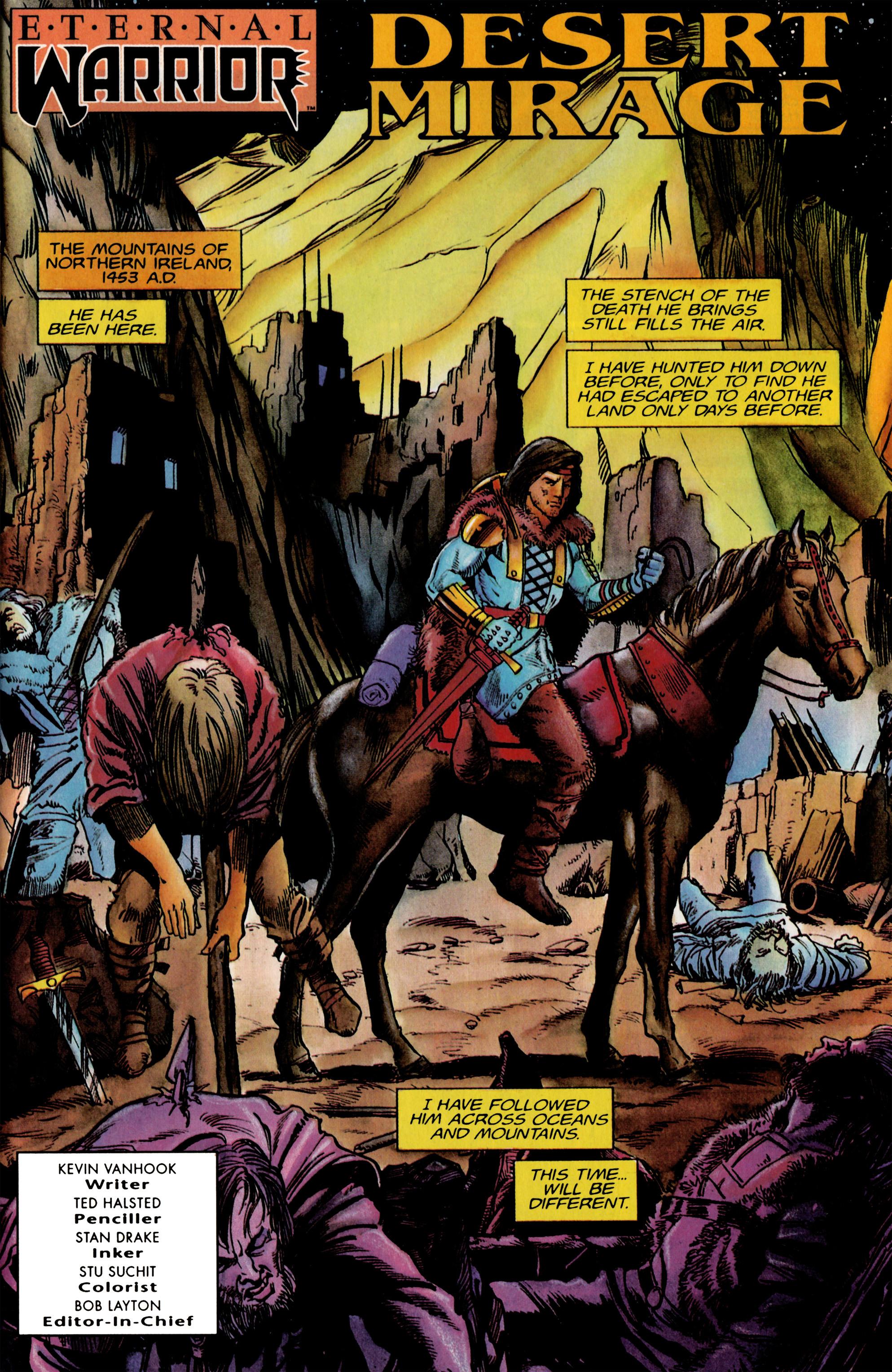 Read online Eternal Warrior (1992) comic -  Issue #19 - 2