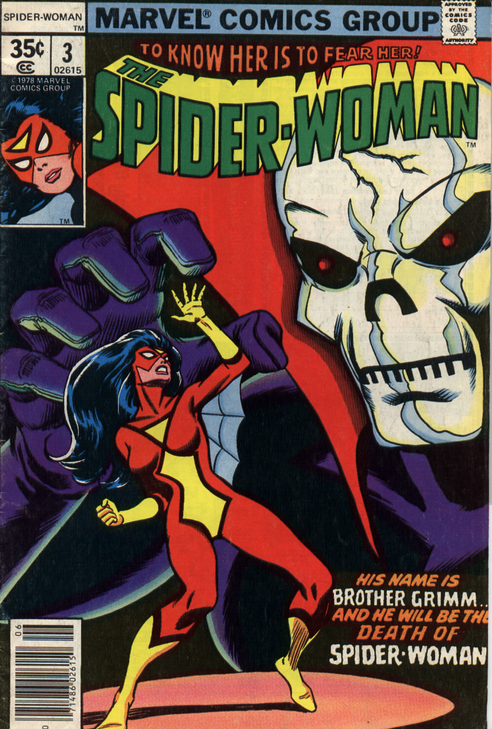 Spider-Woman (1978) issue 3 - Page 1