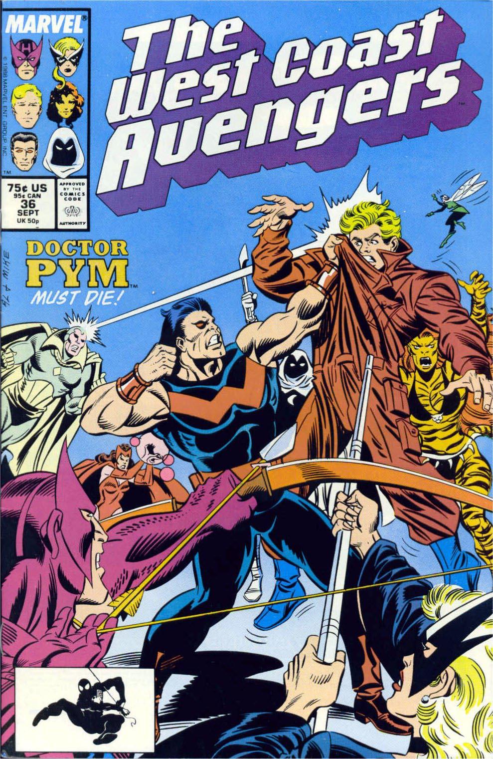 West Coast Avengers (1985) 36 Page 1