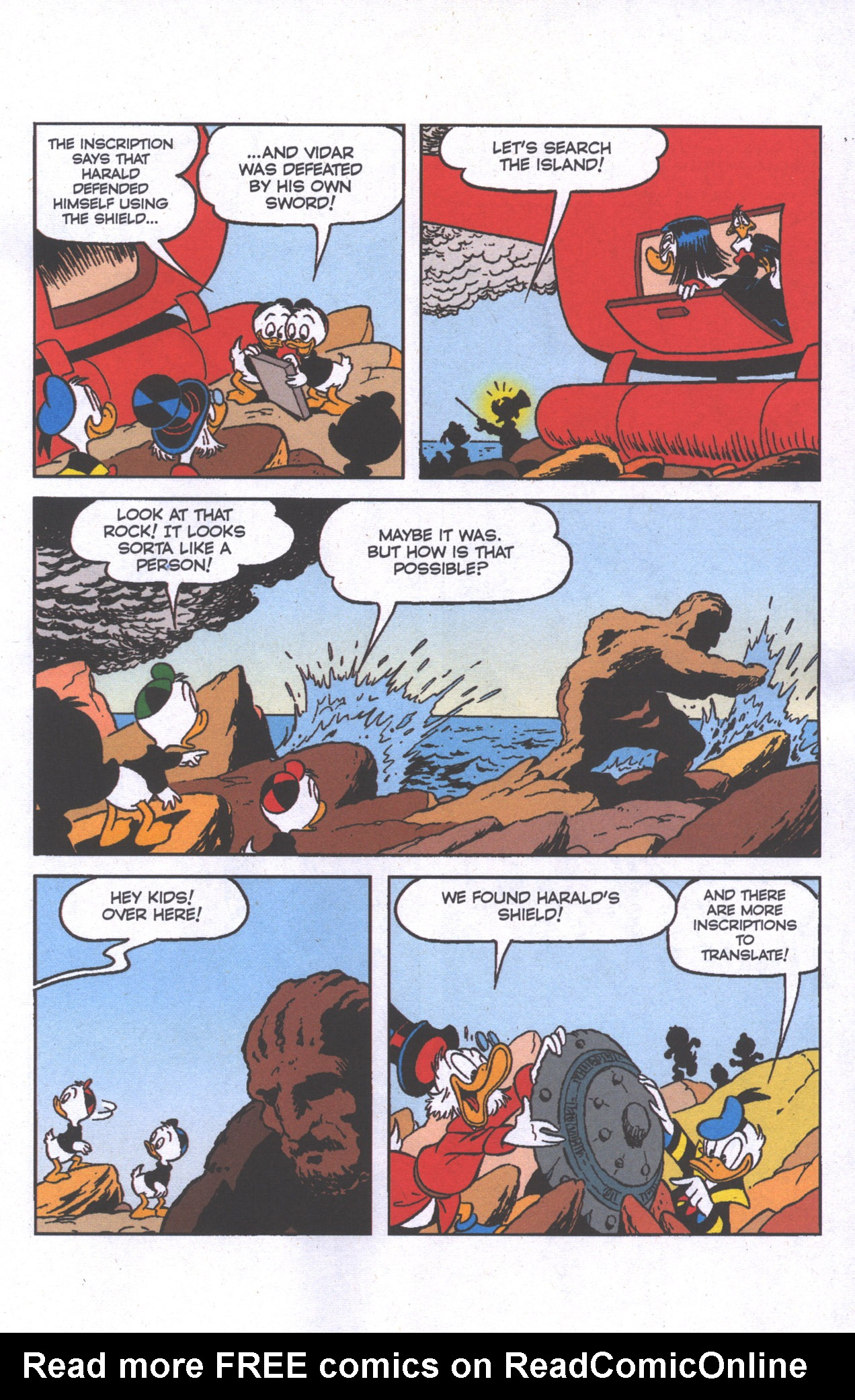 Read online Uncle Scrooge (1953) comic -  Issue #386 - 16