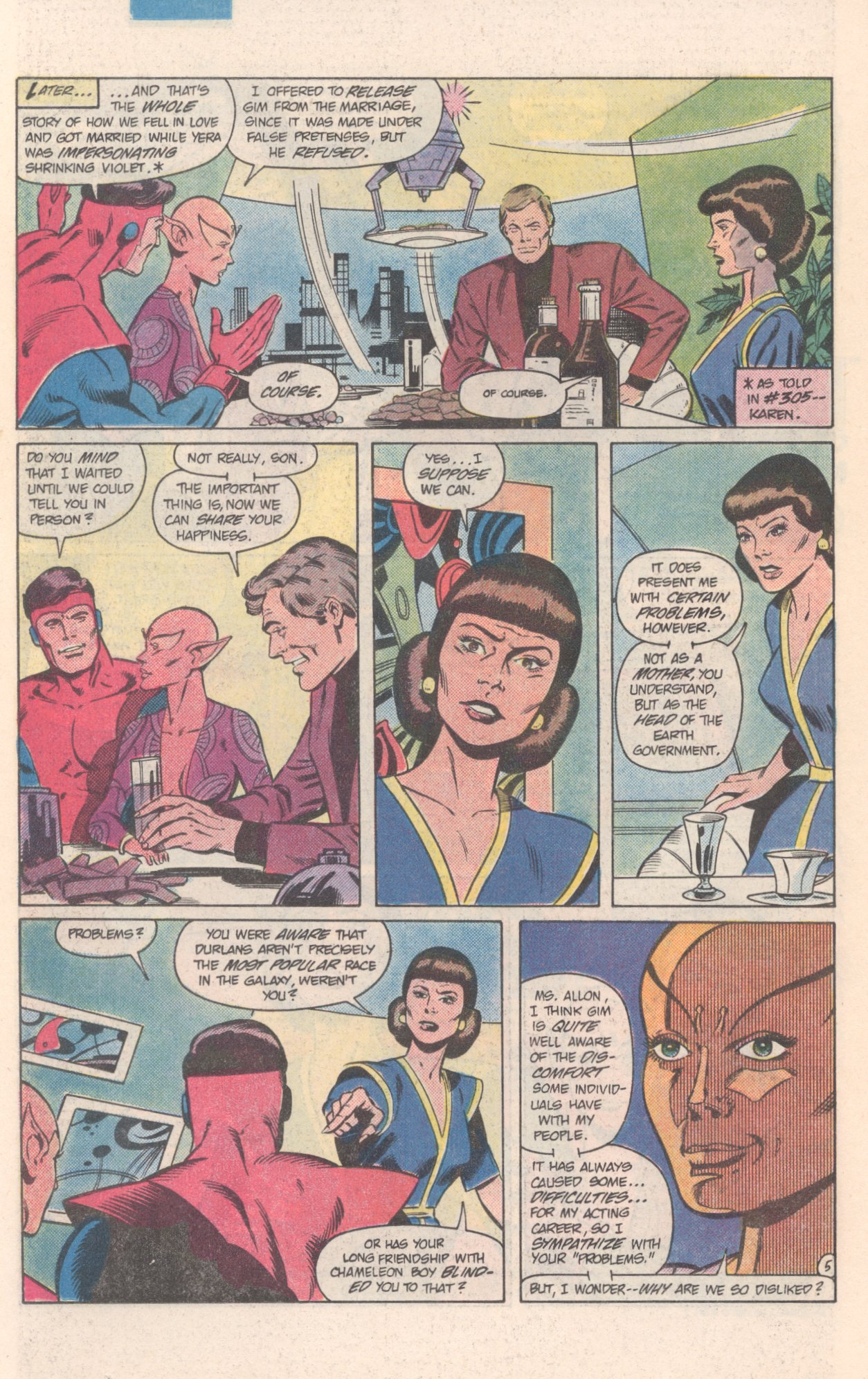 Legion of Super-Heroes (1980) 308 Page 19