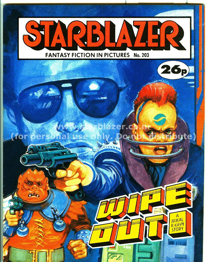 Starblazer issue 203 - Page 1