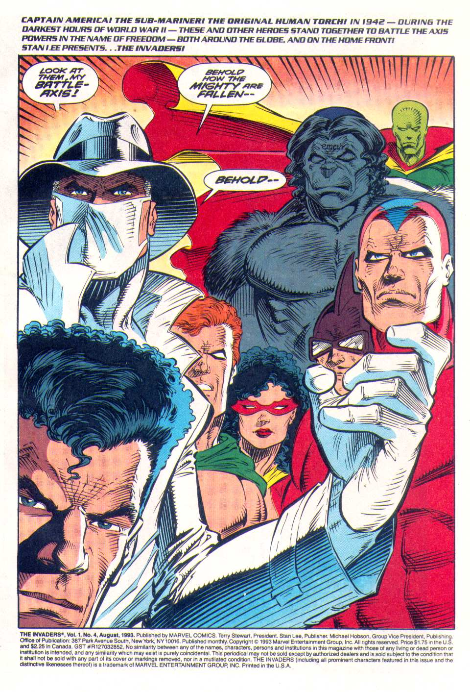 Read online The Invaders (1993) comic -  Issue #4 - 2