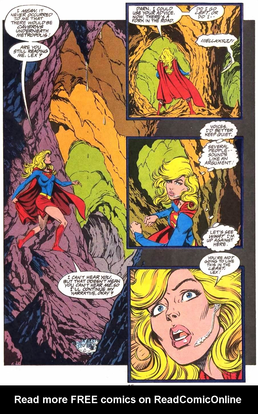 Read online Adventures of Superman (1987) comic -  Issue #499 - 16