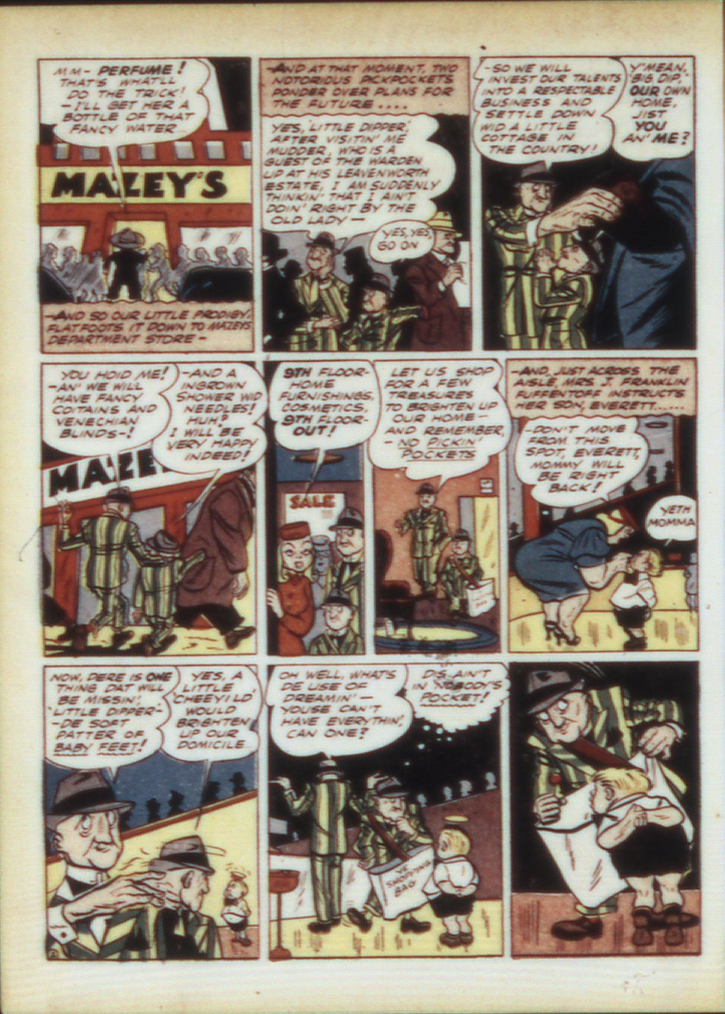 Read online Sensation (Mystery) Comics comic -  Issue #9 - 34