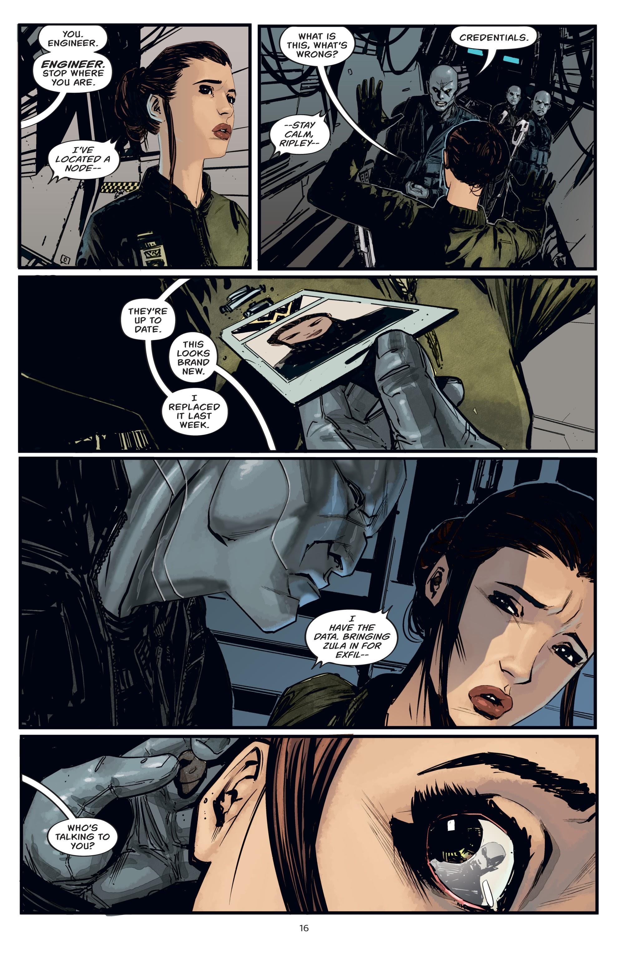 Read online Aliens: Resistance comic -  Issue # _TPB - 16